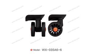 【温州市诺信企业~圣仕~仕好】配件,万向轮·双,减震轮编号:WX-035A6-6